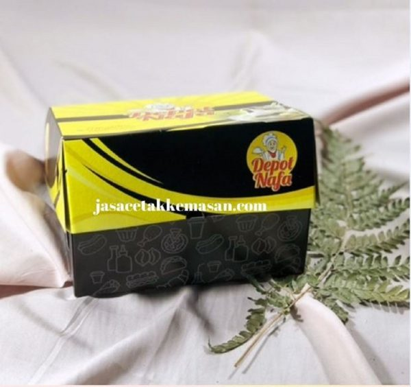 Custom Kemasan Nasi Box