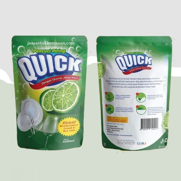Standing Pouch Liquid Nylon